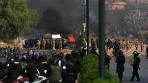 Gwałtowne starcia zwolenników Moralesa z policją i wojskiem. Zginęło pięć osób