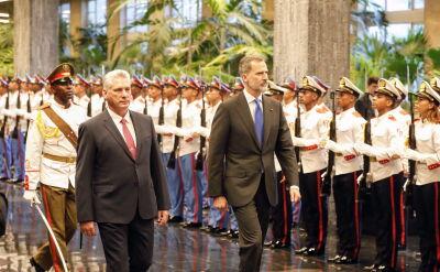 Król Hiszpanii Filip VI przybył do Hawany