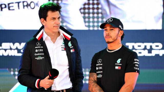 Hamilton negocjuje nowy kontrakt