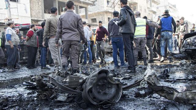 Wybuch w pobliżu dworca, kilkunastu zabitych.