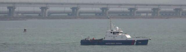 Przejęte przez Rosję okręty ruszyły z portu. Przekazanie Ukrainie możliwe w poniedziałek