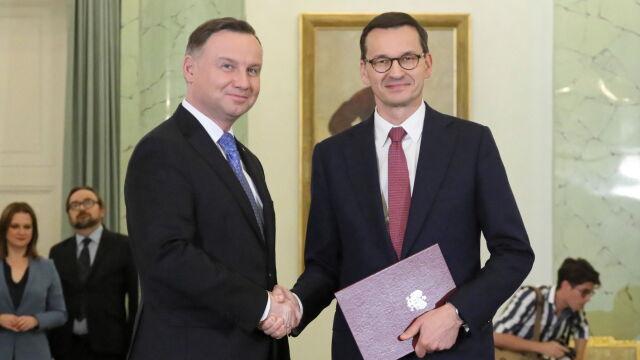 """""""Historia dzieje się na naszych oczach"""". Prezydent przyjął dymisję rządu Morawieckiego"""