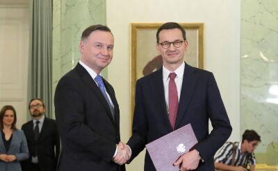 Prezydent przyjął dymisję rządu Morawieckiego