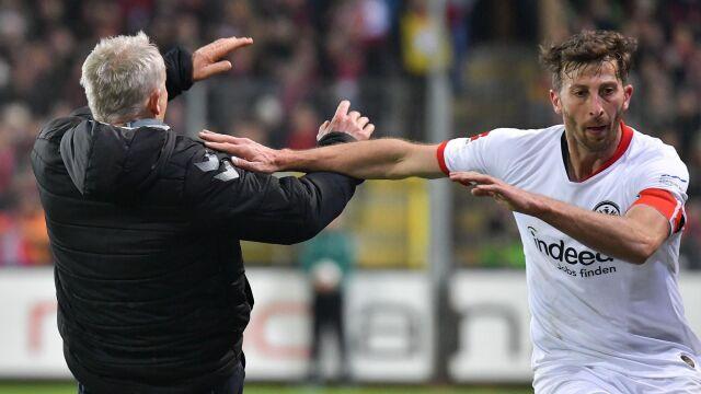 Nie zagra do końca roku. Kolejna kara dla awanturnika z Eintrachtu