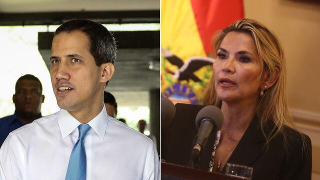 Tymczasowa prezydent Boliwii uznała Guaido prezydentem Wenezueli