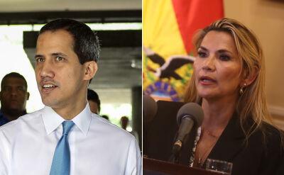 Anez uznała Guaido jako prezydenta Wenezueli