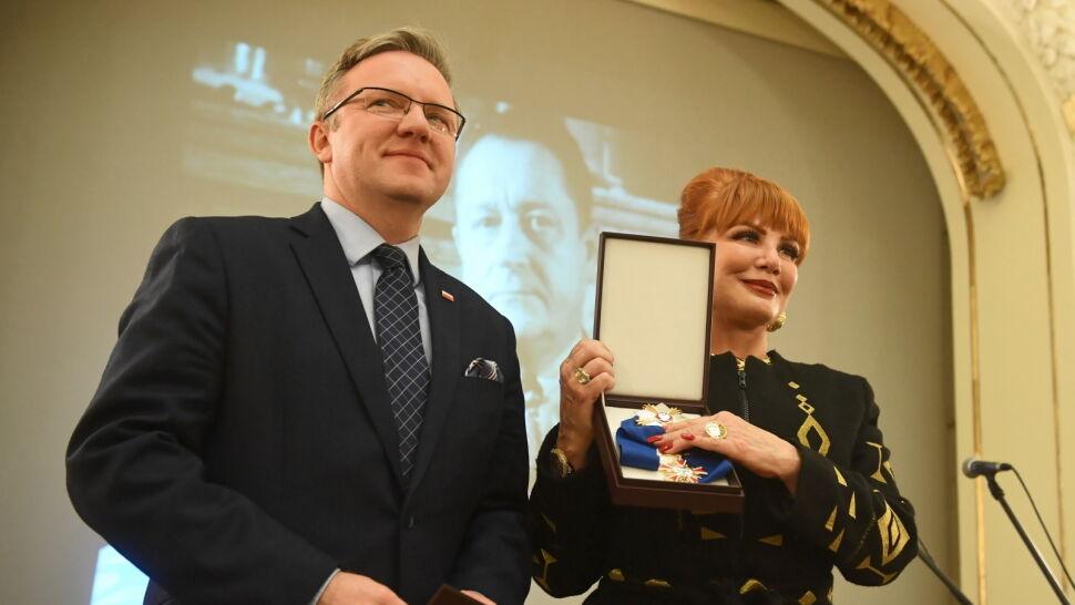 Georgette Mosbacher odebrała odznaczenie dla byłego ambasadora USA w Polsce