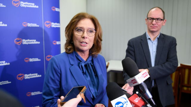 Kidawa-Błońska: ja powiedziałam, że wierzę, że Lewica przeanalizuje dane, sprawdzi jakie to będzie miało skutki