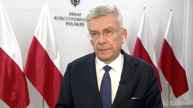 """""""Nigdy nie wyłączałem mikrofonów"""". Sprawdzamy marszałka Karczewskiego"""