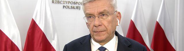Karczewski: czuję się osobiście urażony