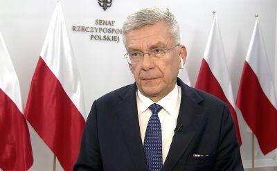 Karczewski: możliwości blokowania na pewno są
