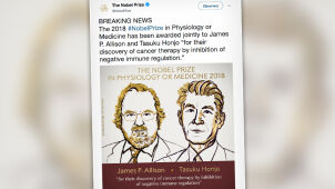 Nobel z medycyny za nową terapię nowotworową