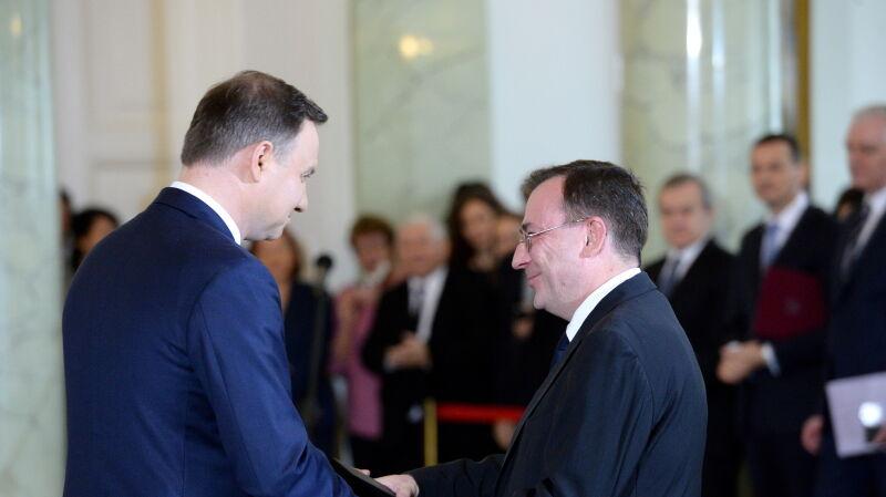 Mariusz Kamiński został powołany na urząd ministra, członka Rady Ministrów