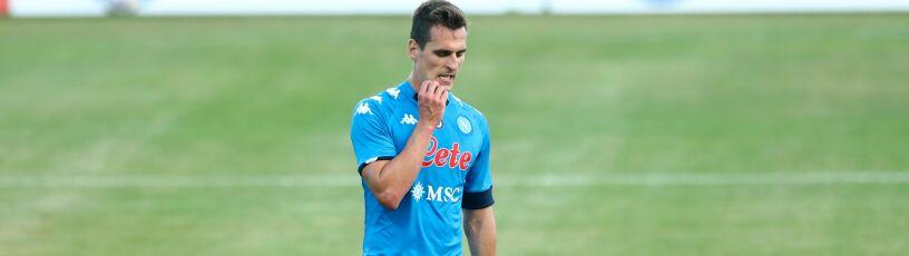 Media: AS Roma obawia się o kolana Milika