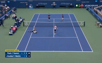 Pavić i Soares wygrali w finale debla w US Open