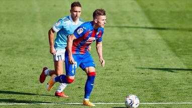 Kądzior zadebiutował w Primera Division. Losów meczu nie odmienił