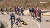 Pechowy upadek Higuity na 15. etapie Tour de France