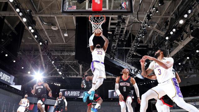 Los Angeles Lakers po dziesięciu latach w finale Konferencji Zachodniej