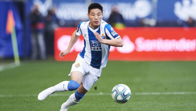 Chiński piłkarz Espanyolu odizolowany w Barcelonie.