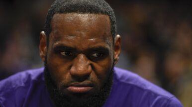 LeBron James wściekły po porażce w głosowaniu na MVP sezonu.