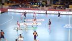 Skrót meczu HC Motor Zaporoże - FC Barcelona w 1. kolejce Ligi Mistrzów w piłce ręcznej