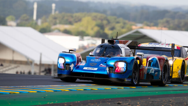 """""""Linia życia"""" w wyścigu 24h Le Mans"""