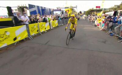 Roglić nie dał rady! Słoweniec stracił koszulkę lidera na 20. etapie Tour de France