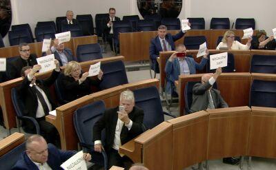 Senat przyjął ustawę o Sądzie Najwyższym bez poprawek