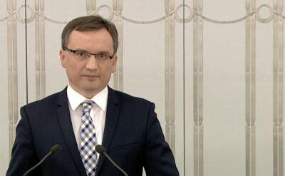 Zbigniew Ziobro skomentował słowa Donalda Tuska