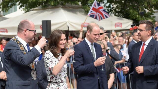 William i Kate w Polsce