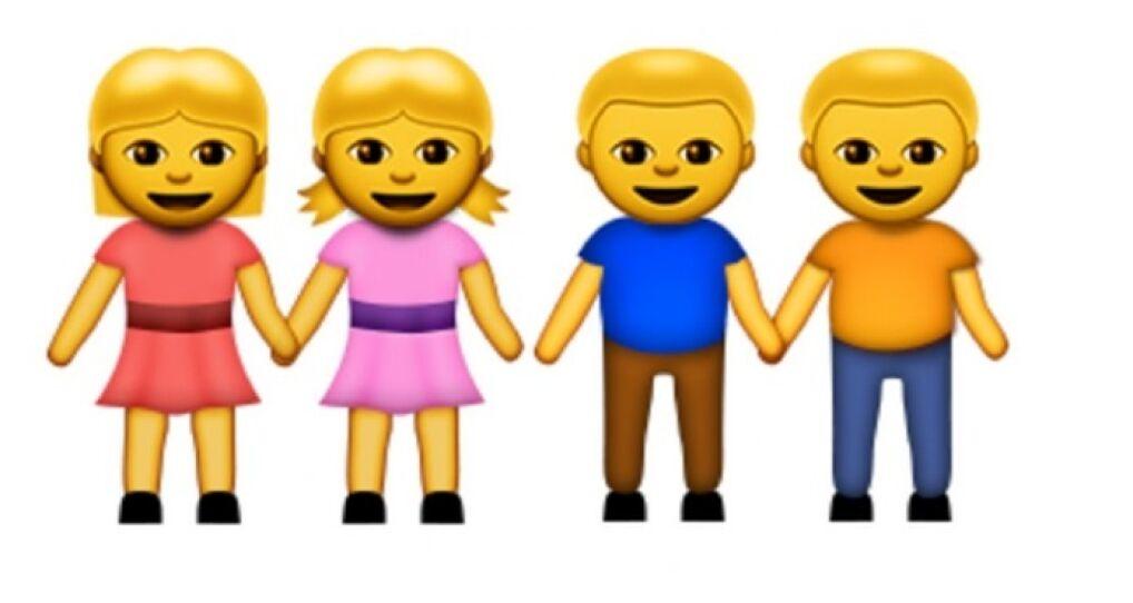 Dywersyfikację seksualna w emoji