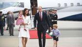 Kate i William wylądowali na lotnisku Chopina