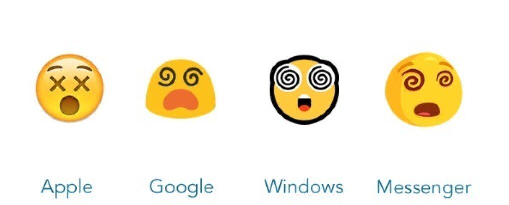 Ta sama emocja przedstawiona przez różnych twórców.