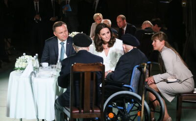 Prince William and Princess Kate met Warsaw Rising insurgents