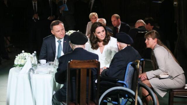 Prince William and Princess Kate met Warsaw Rising insurgents