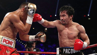 Pacquiao szykuje się do walki z przedszkolanką