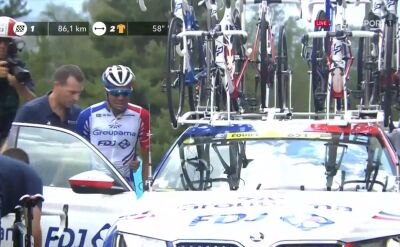 Dramat Pinot. Francuz musiał zejść z trasy na 19. etapie Tour de France
