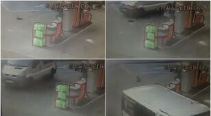 Potrącił psa na stacji paliw i odjechał. Po eksperymencie prokuratura podjęła decyzję