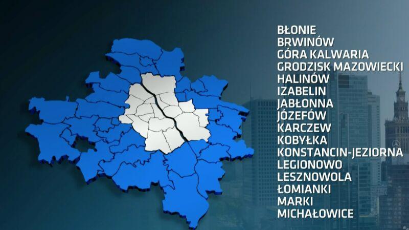 """Warszawa po nowemu. Materiał magazynu """"Polska i świat"""" z 1.02"""