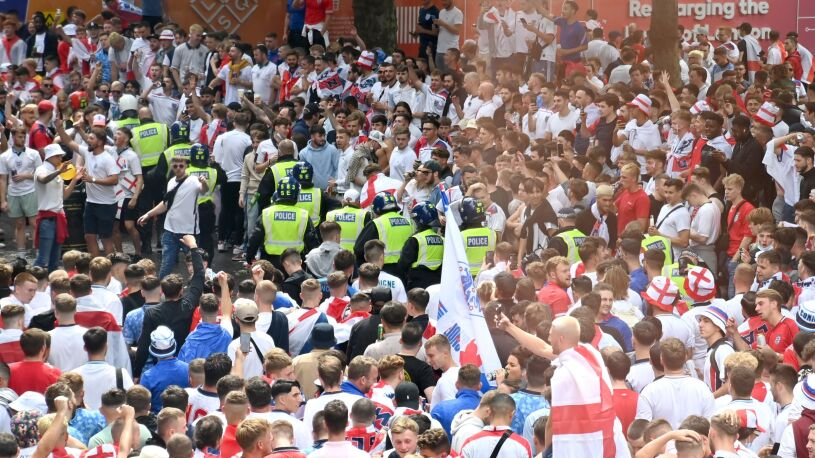 Anglicy ukarani za finał Euro. Zagrają bez kibiców