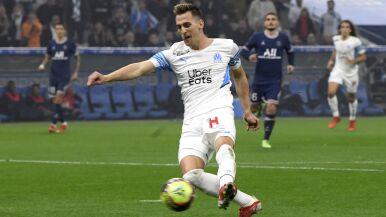 Anulowany gol Milika w meczu z PSG