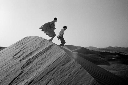 Christo i Jeanne-Claude w 1982 roku szukali ponownie miejsca dla swojej rzeźby