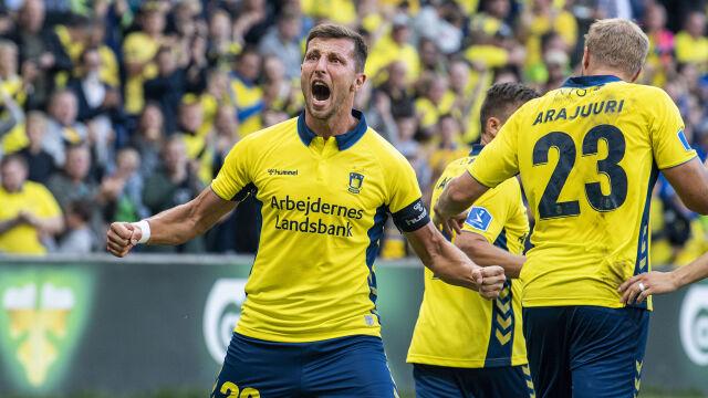 Kamil Wilczek przeszedł do historii Broendby. Zdystansował byłą gwiazdę Schalke
