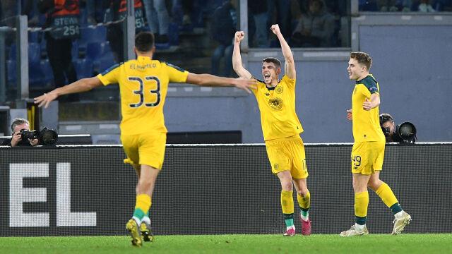 Celtic zszokował Rzym i może świętować awans