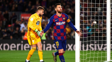 Geniusz ponownie uradował Camp Nou. Messi razy trzy