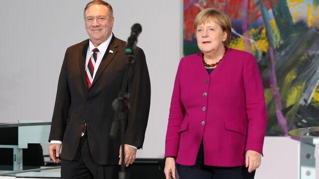 Angela Merkel dziękuje USA za pomoc przy zjednoczeniu Niemiec