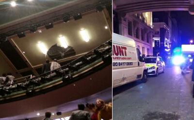 W teatrze zawalił się sufit. Ewakuowano ponad tysiąc osób