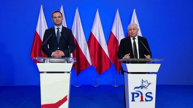 Duda oficjalnym kandydatem na prezydenta. Kaczyński: Polska potrzebuje zmian