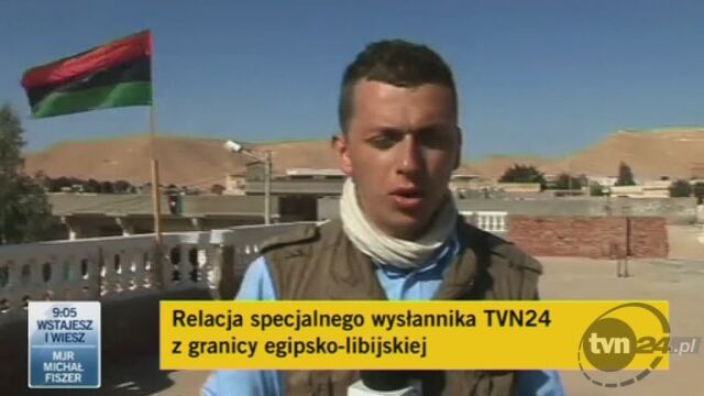 Już 4 tys. uchodźców koczuje na pograniczu libijsko-egipskim (TVN24)