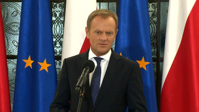 Tusk: Niektórzy w Europie są naiwni wierząc Putinowi